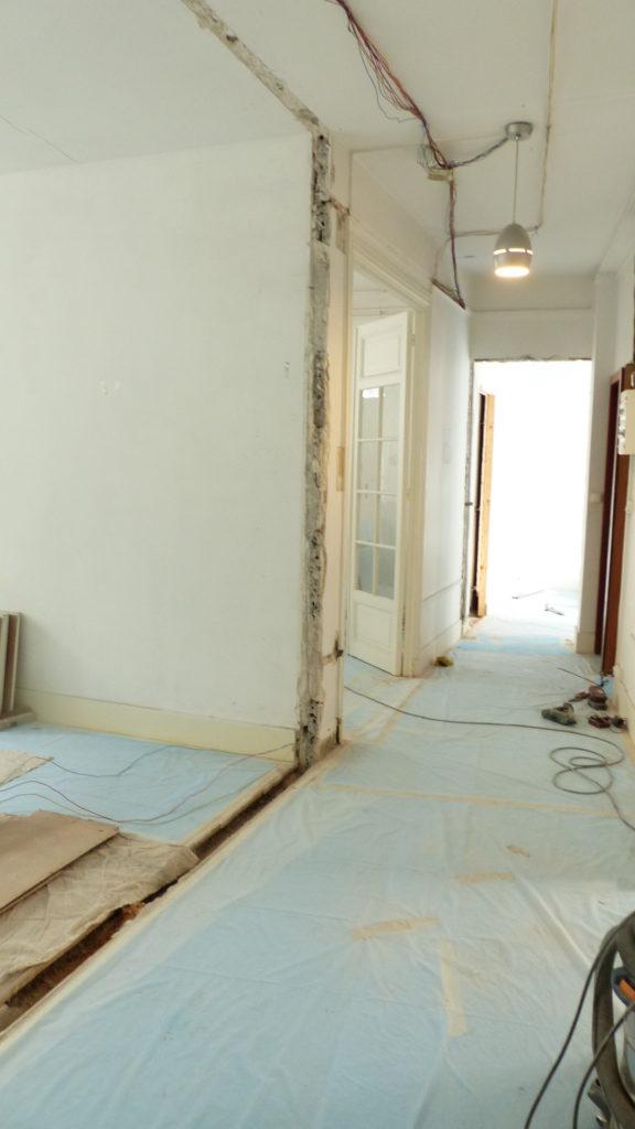 Bauarbeiten 3 Etage 2